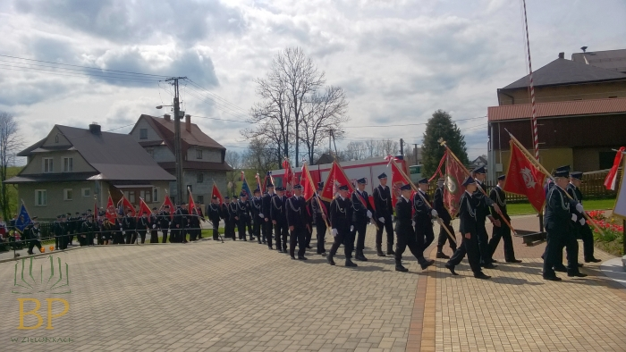 OSP Morawczyna 1 V 2016 r. Zielonki (44)
