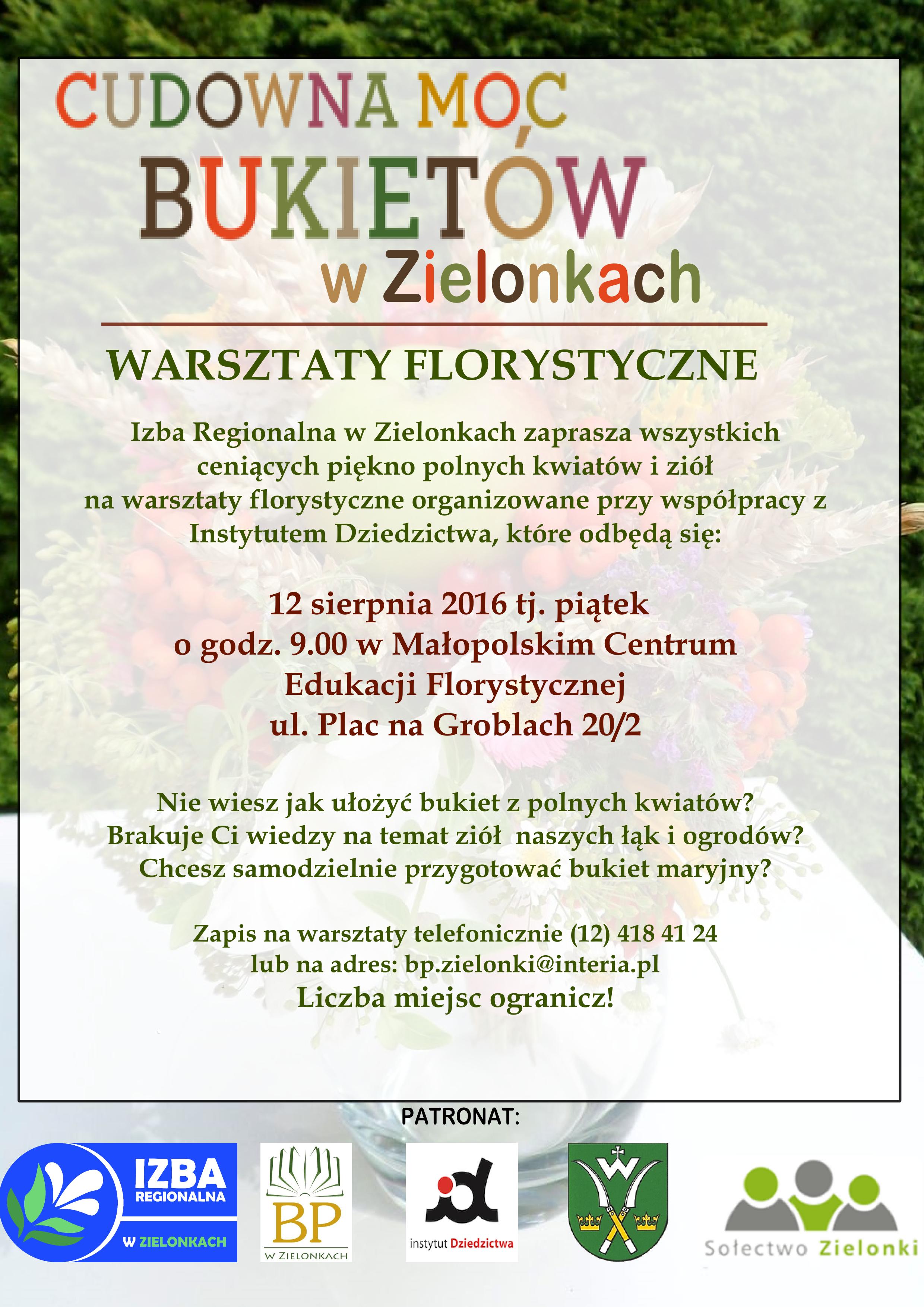 plakat florystyczny