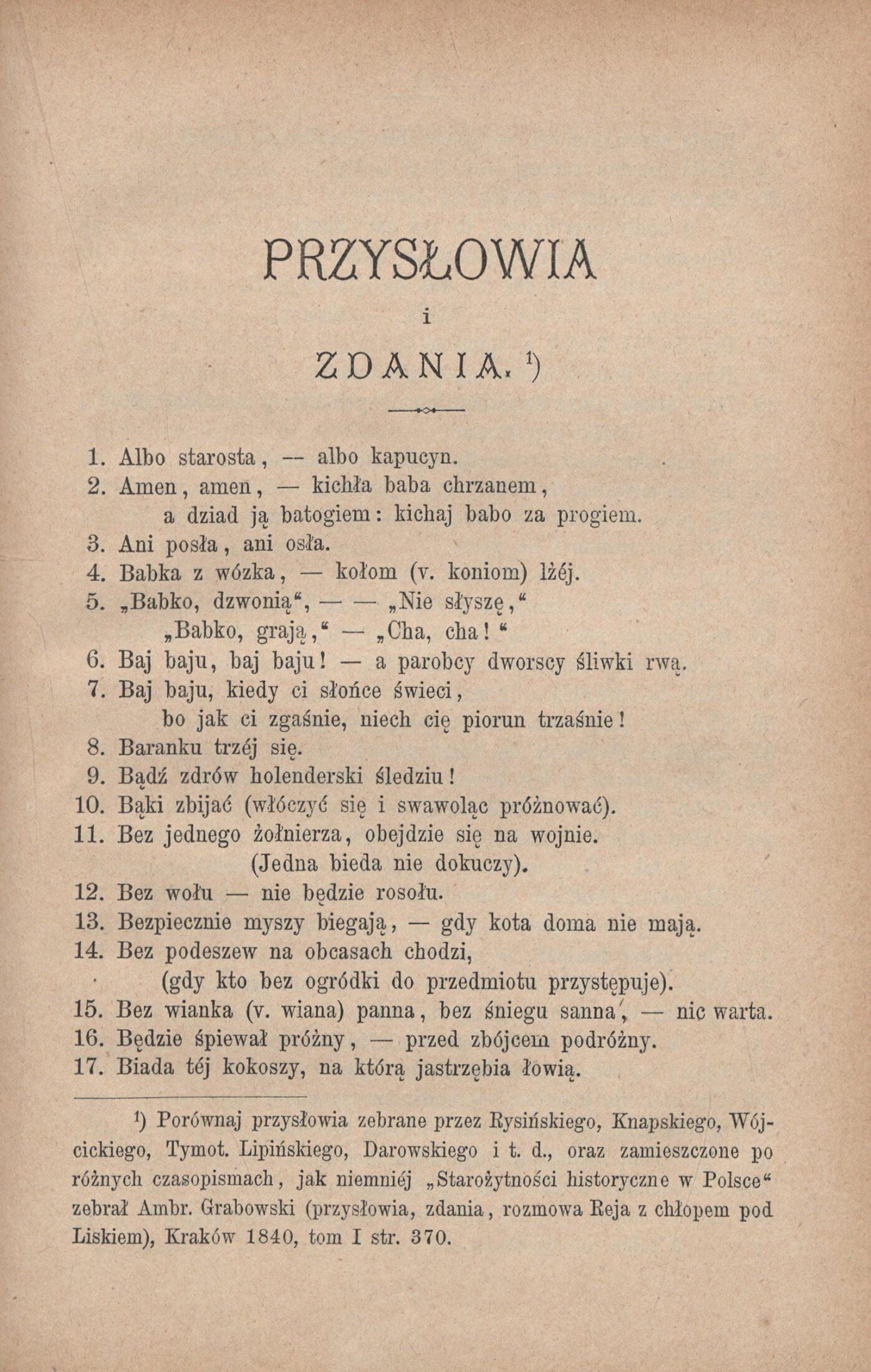 strona z książki