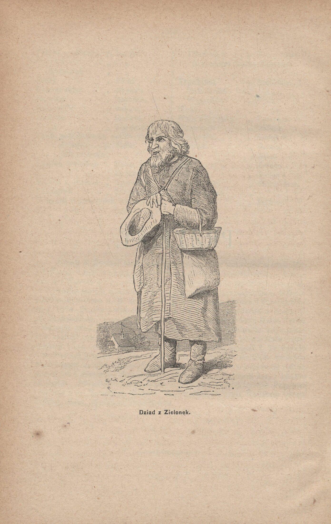 ilustracja - Dziad z Zielonek