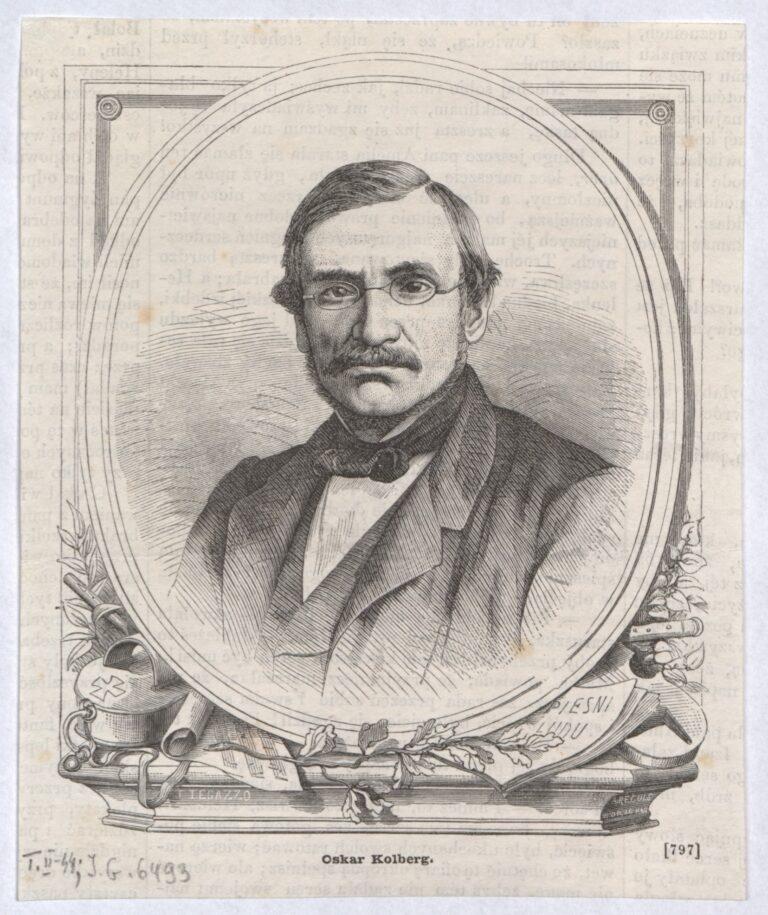 portret Oskara Kolberga